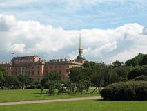 Città universitaria Martius, St Petersburg Fotografia Stock Libera da Diritti