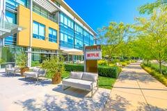 Città universitaria Silicon Valley di Netflix fotografia stock