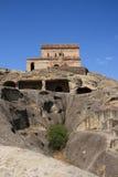Città Uplistsikhe della caverna Fotografia Stock Libera da Diritti
