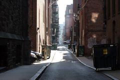 Città urbana Fotografia Stock Libera da Diritti