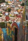 Città variopinta di Guanajuato Messico Fotografia Stock Libera da Diritti