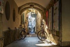 Città Vecchia Berna del centro Fotografie Stock