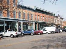 Città Vecchia Collins Colorado forte fotografie stock libere da diritti