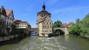 Città Vecchia Corridoio di Bamberga, Germania archivi video