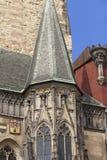 Città Vecchia Corridoio, quadrato di Città Vecchia, Praga, repubblica Ceca Immagine Stock