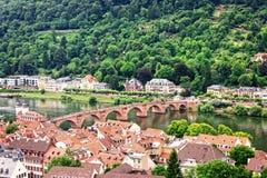 Città Vecchia di Heidelberg Immagine Stock Libera da Diritti