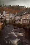 Città Vecchia di Monschau Immagini Stock Libere da Diritti