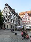 Città Vecchia di Norimberga Fotografie Stock
