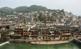Città Vecchia di Phoenix (città antica di Fenghuang) Fotografia Stock Libera da Diritti