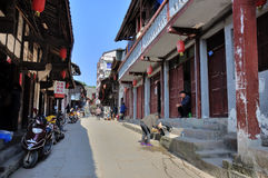 Città Vecchia di Zhouzi immagini stock libere da diritti