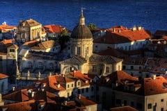 Città vecchia Dubrovnik Fotografia Stock Libera da Diritti