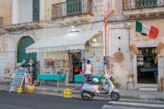 Città Vecchia in Gallipoli Fotografie Stock