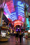 Città Vecchia Las Vegas, NV Immagine Stock
