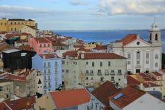 Città Vecchia Lisbona Fotografia Stock