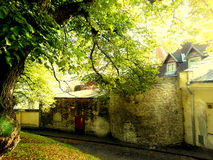 Città Vecchia medievale Tallinn immagini stock libere da diritti