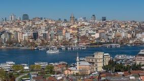 Città Vecchia meraviglioso Costantinopoli, Turchia fotografia stock