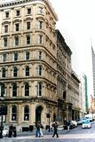 Città Vecchia Montreal in Quebec, Canada fotografia stock libera da diritti