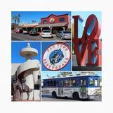 Città Vecchia Scottsdale, Arizona Fotografia Stock