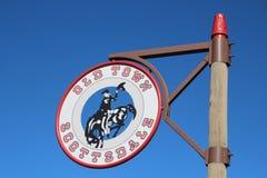 Città Vecchia Scottsdale, Arizona Fotografie Stock