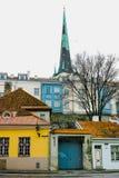 Città Vecchia a Tallinn immagini stock
