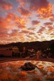 Città Vecchia Temecula, California del sud Fotografia Stock