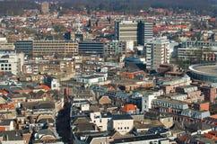 Città, vista da sopra Immagine Stock Libera da Diritti