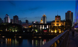 Città della Cina di Ningbo Fotografia Stock