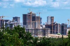 Città della costruzione Immagini Stock Libere da Diritti