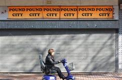Città della libbra Fotografia Stock