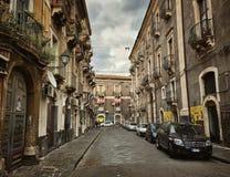 Città di Catania Immagine Stock