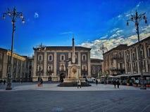 Città di Catania Fotografie Stock Libere da Diritti