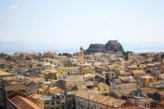 Città di Corfù, Grecia Immagini Stock