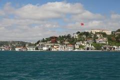 Città di Costantinopoli delle costruzioni, Turchia Fotografia Stock Libera da Diritti