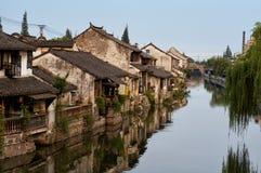 Città di Fengjing Fotografie Stock