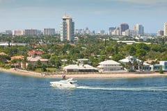 Città di Fort Lauderdale, Florida Fotografia Stock