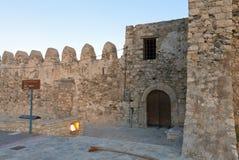 Città di Ierapetra dell'isola del Crete in Grecia Fotografia Stock