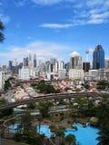 Citt? di Kuala Lumpur fotografia stock
