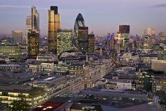 Città di Londra Immagini Stock Libere da Diritti