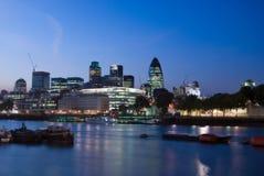 città di Londra Fotografie Stock Libere da Diritti