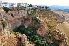 Città di Ronda - Spagna Royalty Free Stock Photos