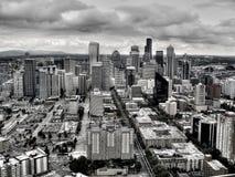 Città di Seattle Fotografia Stock Libera da Diritti