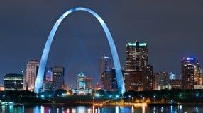 Città di St. Louis Immagine Stock
