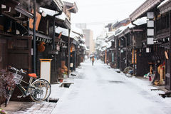 Città di Takayama Immagini Stock Libere da Diritti