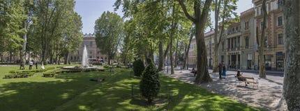 Città di Zagabria Immagini Stock