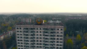 Citt? fantasma Pripyat vicino al NPP di Cernobyl, Ucraina archivi video