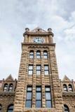 Città Hall Clock Tower di Calgary Fotografia Stock Libera da Diritti