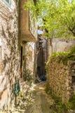 Citt? medievale di Artena, Lazio, Italia immagine stock libera da diritti