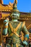 Città Myanmar di Kyauk Taw Gyi Phayar Mandalay Fotografia Stock