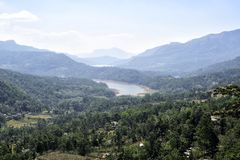 Città Nuwara Eliya della montagna Fotografia Stock