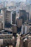 Città Sao Paulo del fondo di architettura Fotografia Stock